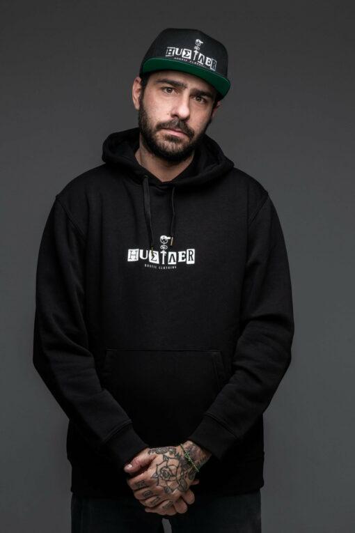 Hustler Sweatshirt Logo