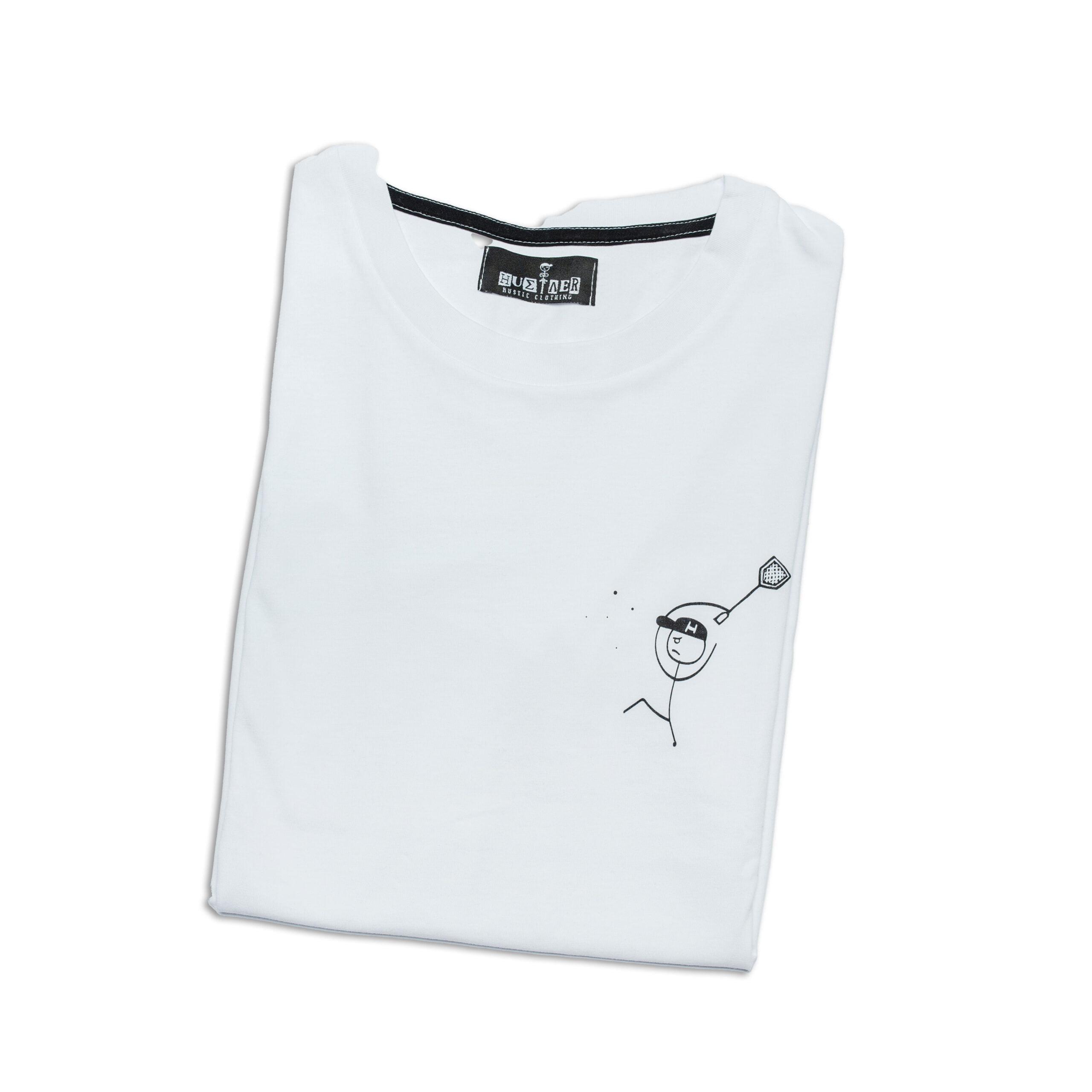 """T-Shirt """"Hustler the Flies Hunter"""""""